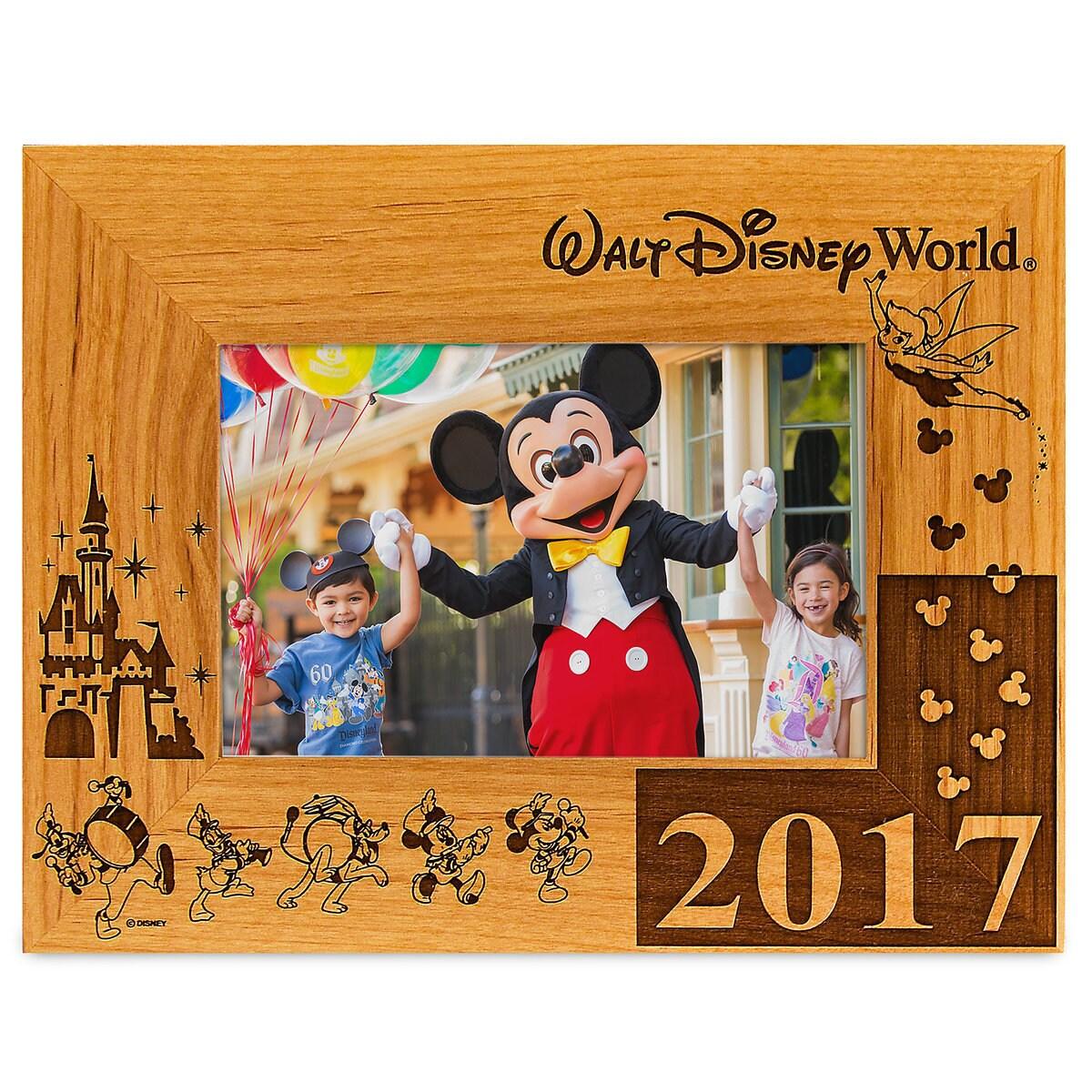 walt disney world 2017 frame by arribas 4 x 6 - Disney World Picture Frames