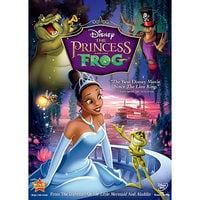 Image of The Princess and the Frog DVD # 1
