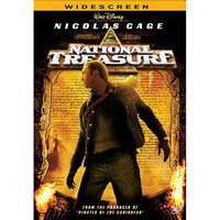 National Treasure DVD - Widescreen