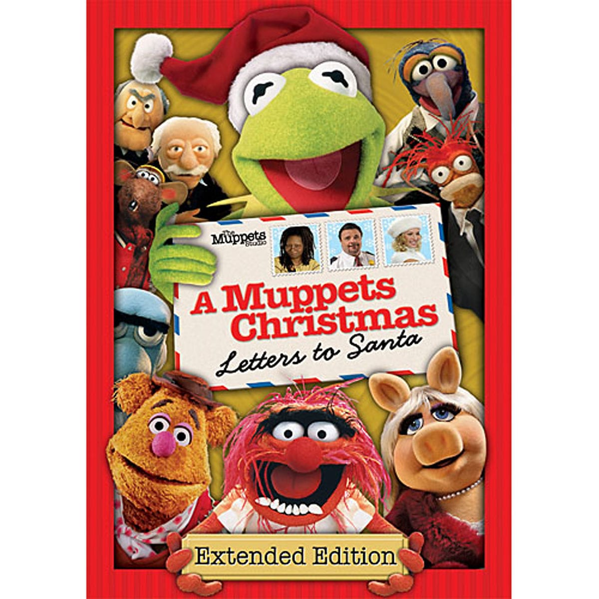 Cartoon Characters 8 Letters : A muppets christmas: letters to santa dvd shopdisney