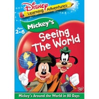 Disney Learning Adventures: Mickey's Around the World in Eighty Days DVD