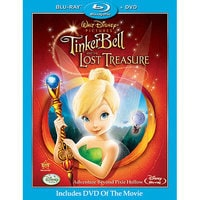 Image of Tinker Bell and the Lost Treasure - 2-Disc Combo Pack # 1