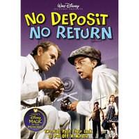 No Deposit No Return DVD