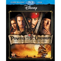 Image of Pirates of the Caribbean: The Curse of the Black Pearl - 2-Disc Combo Pack # 1