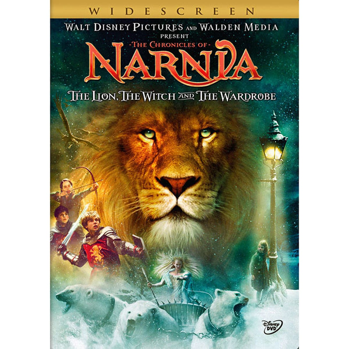 the chronicles of narnia: the lion, the witch and the wardrobe dvd