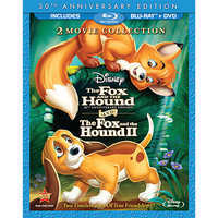Image of The Fox and the Hound/The Fox and the Hound II - 3-Disc Blu-ray and DVD Set # 1