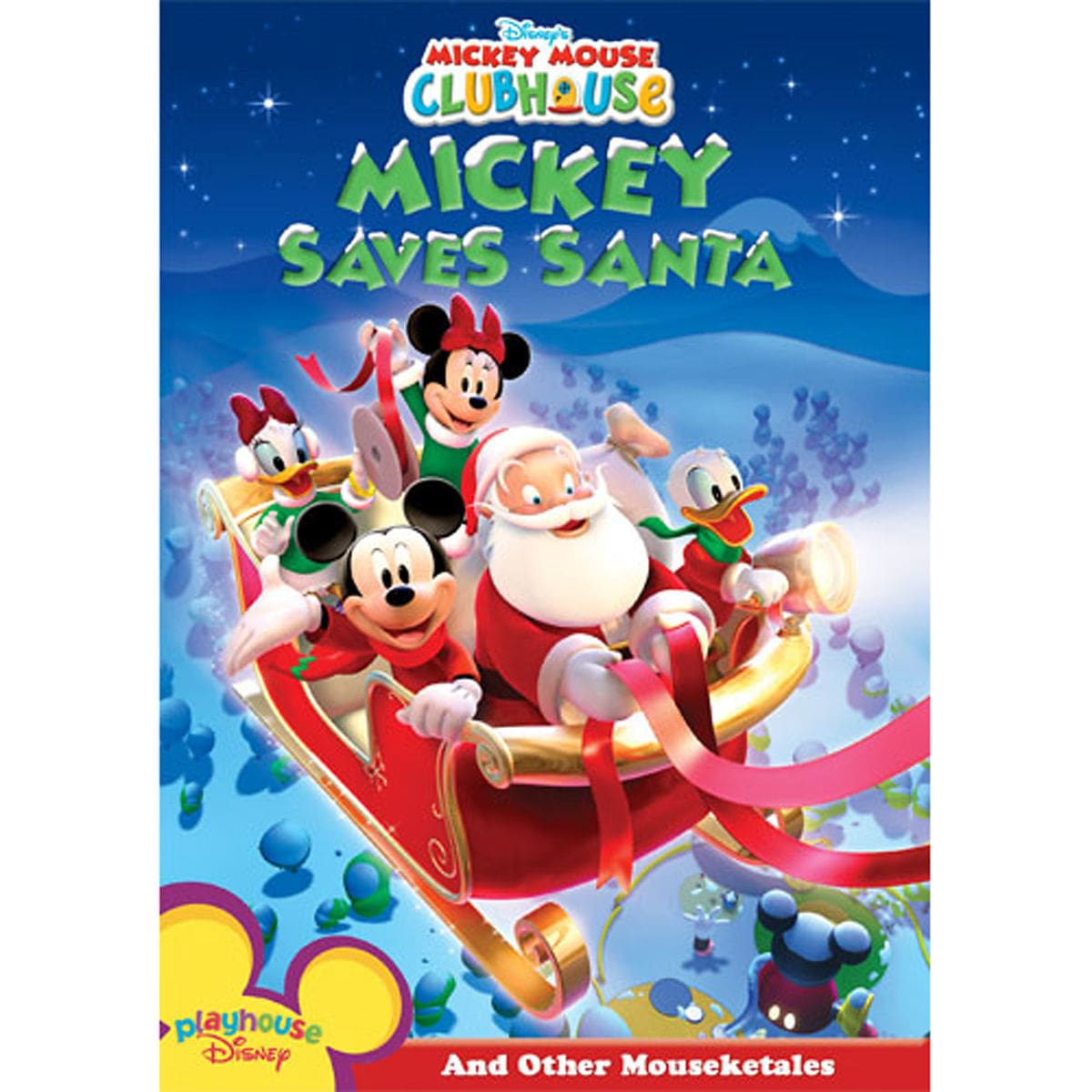 mickey mouse clubhouse mickey saves santa dvd shopdisney
