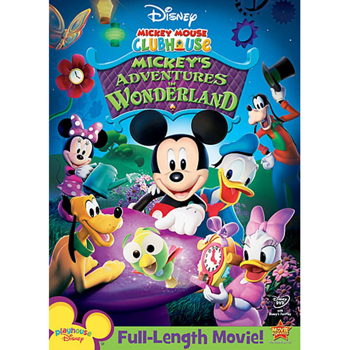 mickey mouse clubhouse mickey s adventures in wonderland dvd