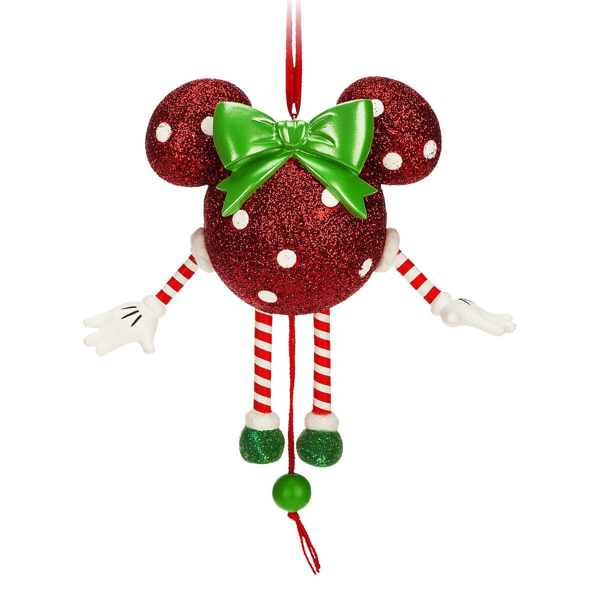 product image of dancing minnie mouse icon ornament 1