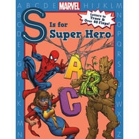 Marvel S is for Super Hero Book