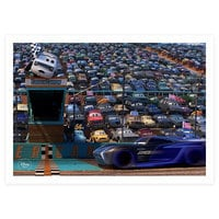 Cars 3 Blu-ray Combo Pack with FREE Lithograph Set Offer - Pre-Order