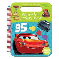 Cars 3 Wipe-Clean Activities Book