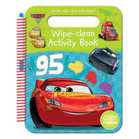 Image of Cars 3 Wipe-Clean Activities Book # 1