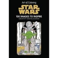 Image of Star Wars: Art of Coloring Book # 1