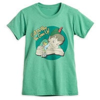 Peter Pan and Tinker Bell T-Shirt for Women