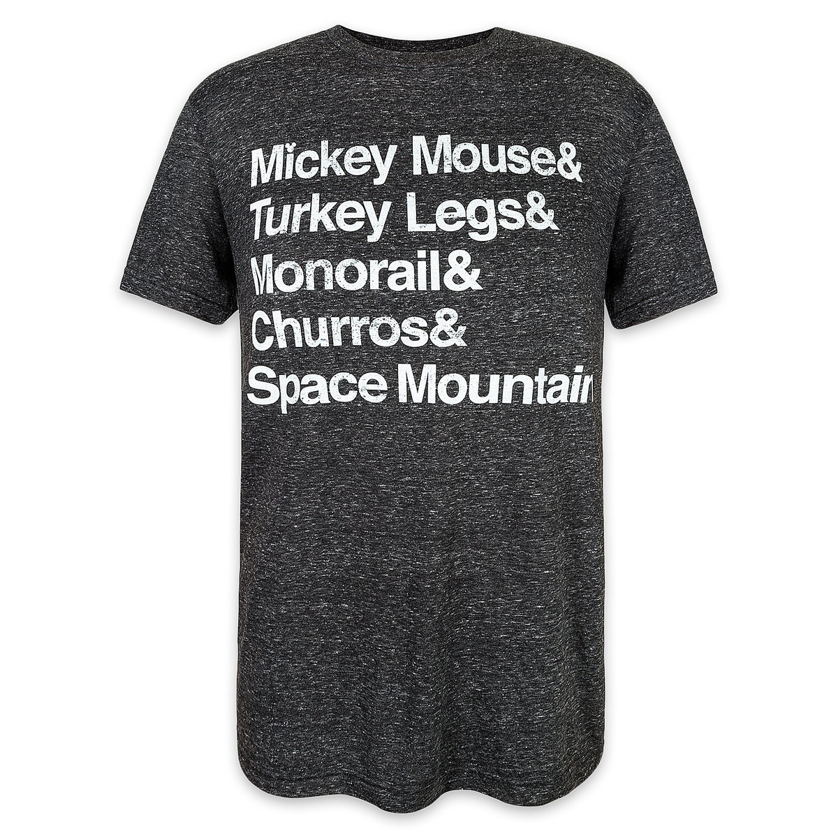 73bf1485 Product Image of Disney Parks Text T-Shirt for Men # 1