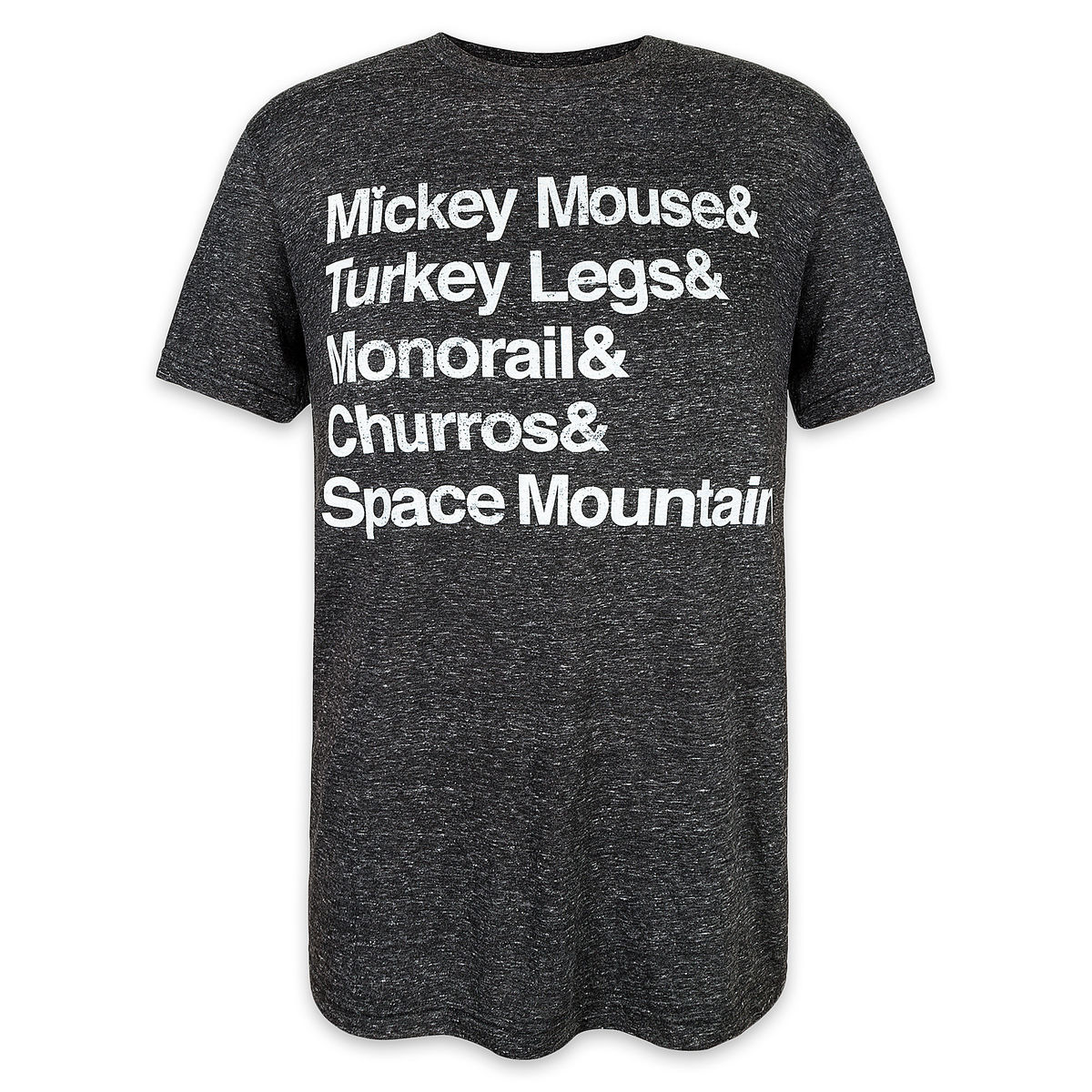 Product Image Of Disney Parks Text T Shirt For Men 1
