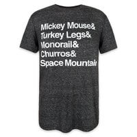 Disney Parks Text T-Shirt for Men