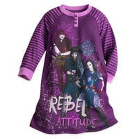 Mal, Uma, and Evie Nightshirt for Kids - Descendants 2