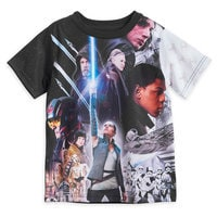 Star Wars: The Last Jedi Cast Sublimated T-Shirt for Kids
