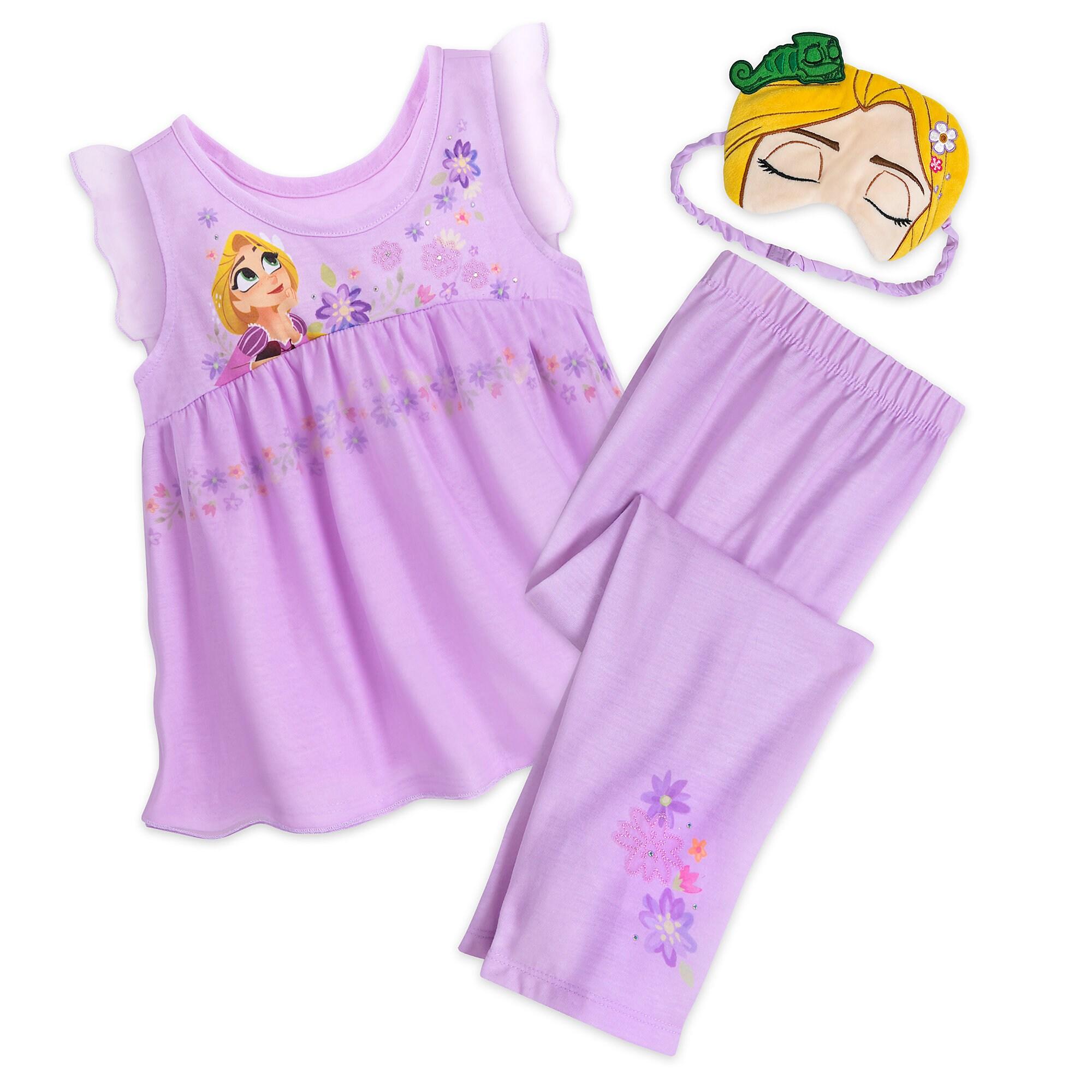 Rapunzel Deluxe Character PJ Set for Kids