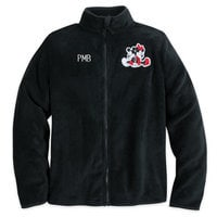 Mickey and Minnie Mouse Fleece Jacket for Women - Personalizable
