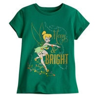 Tinker Bell Holiday Tee for Girls
