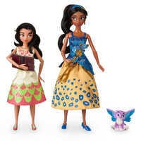 Image of Elena of Avalor Deluxe Singing Doll Set - 11'' (with 10'' Isabel) # 1