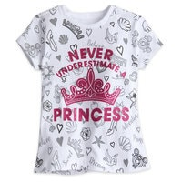 Disney Princess Icon Tee for Girls