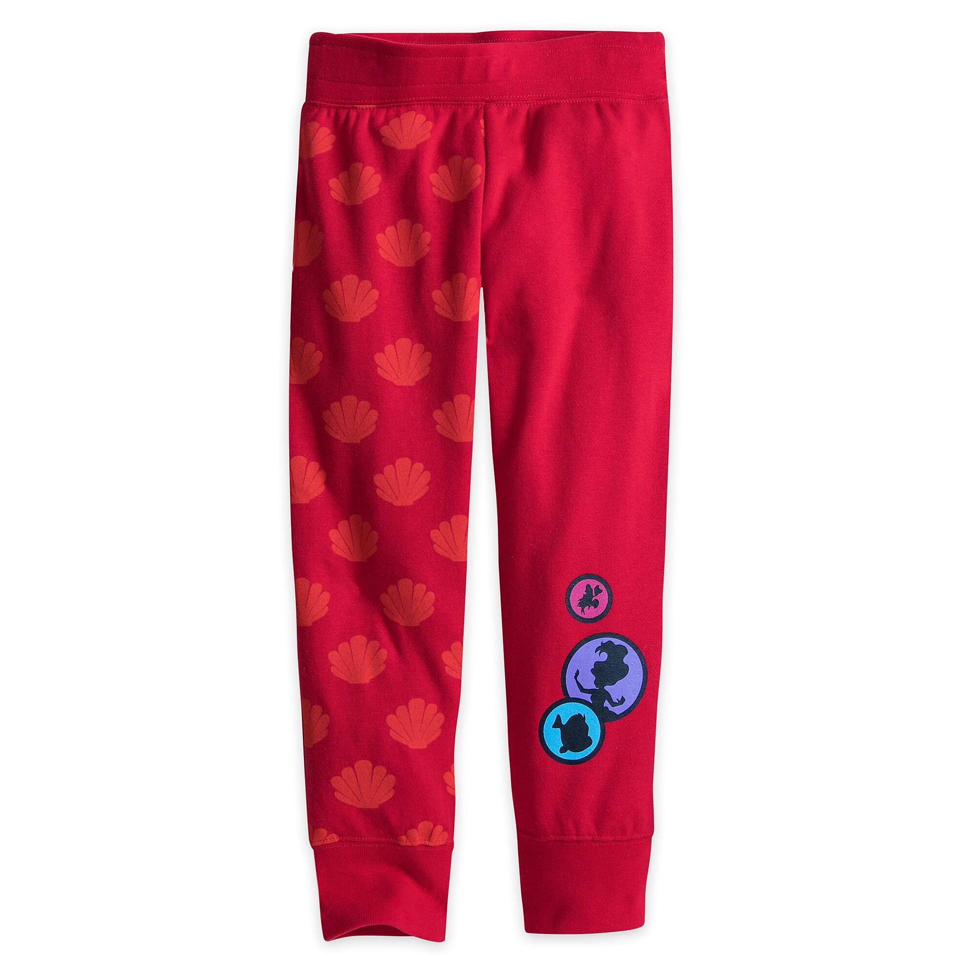 Ariel Fleece Pants for Girls