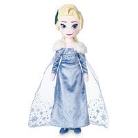 Elsa Plush Doll - Olaf's Frozen Adventure - Medium - 19''