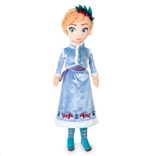 Anna Plush Doll Olaf S Frozen Adventure Medium 18 1