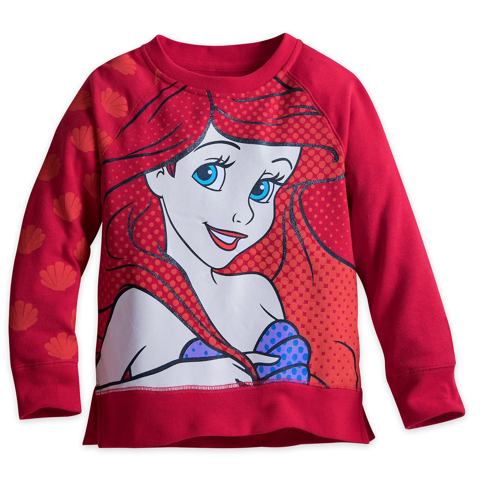 Ariel Fleece Top for Girls