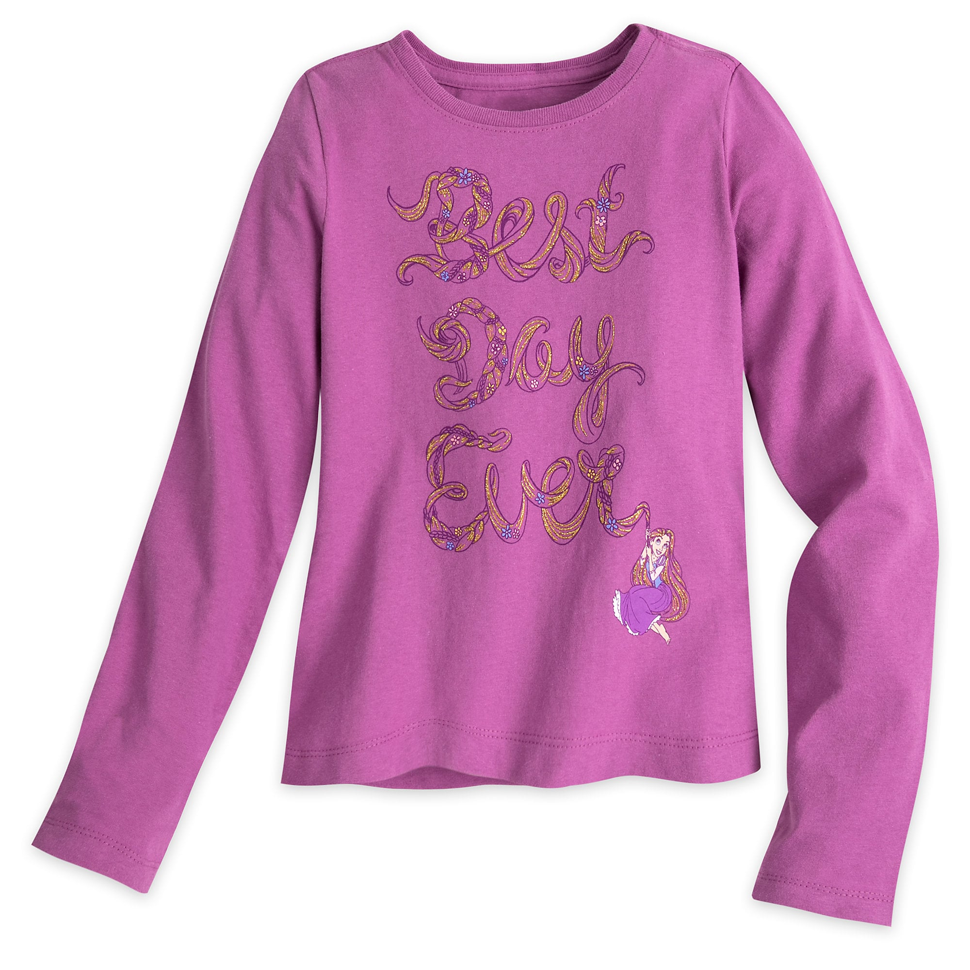 Rapunzel Long Sleeve Tee for Girls