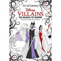 Disney Villains: The Art of Coloring Book