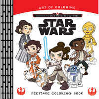 Image of Journey to Star Wars: The Last Jedi Coloring Book # 1