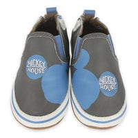 Mickey Mouse Leather Shoes for Baby by Robeez