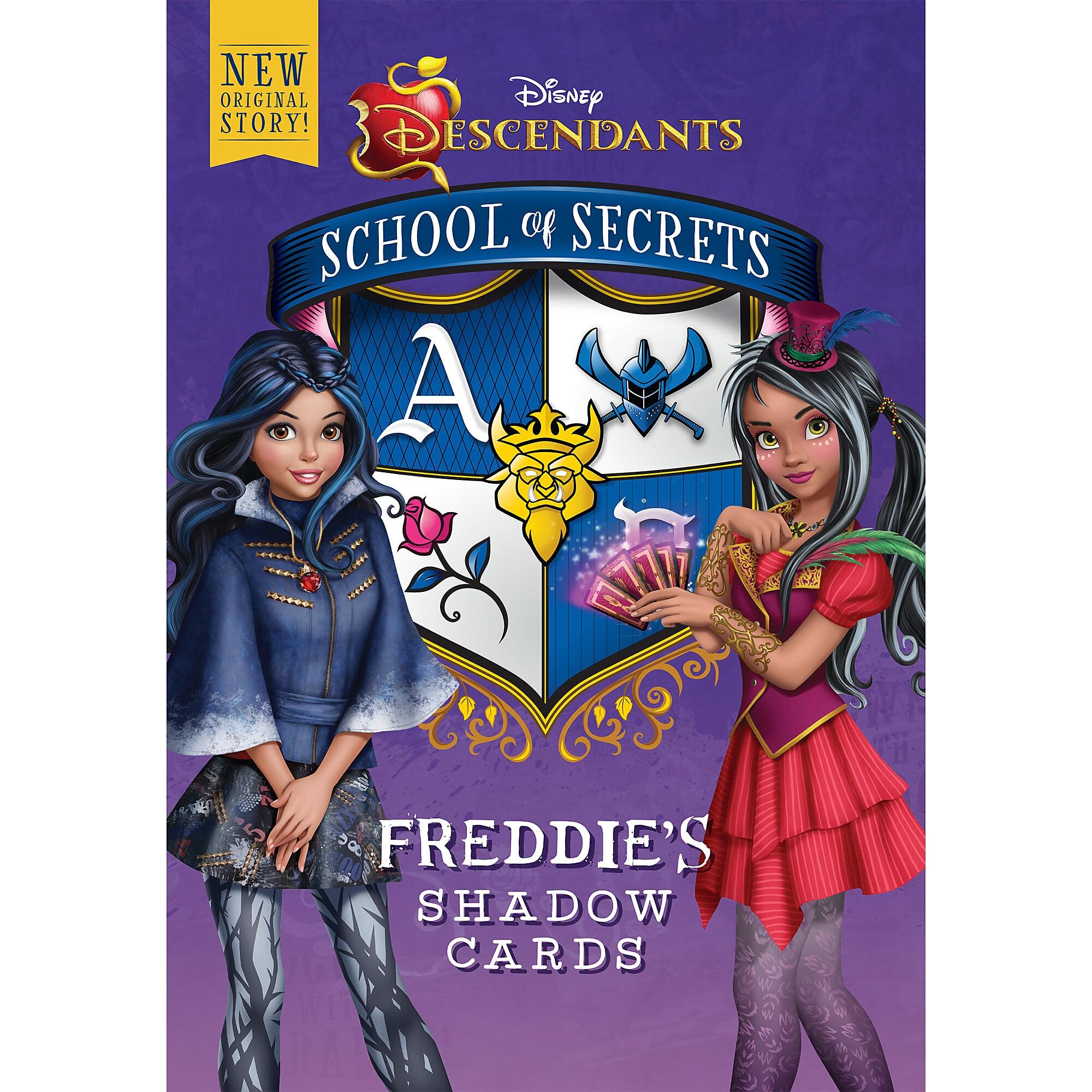 Descendants School of Secrets: Freddie's Shadow Cards