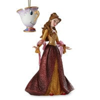 Image of Belle and Chip Couture de Force Holiday Figure and Ornament Set # 2