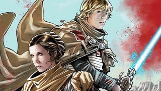 Luke and Leia Star in Star Wars: The Last Jedi – Storms of Crait #1 – Exclusive
