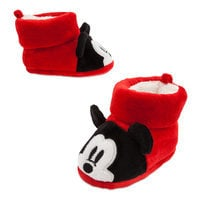 Mickey Mouse Holiday Slippers for Baby