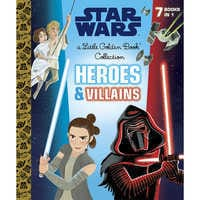 Image of Star Wars Heroes and Villains Little Golden Book Collection # 1