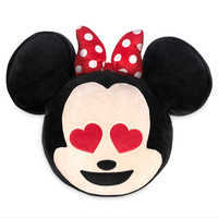 Image of Minnie Mouse Emoji Plush Pillow # 2