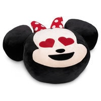 Minnie Mouse Emoji Plush Pillow