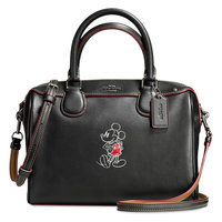 Mickey Mouse Mini Bennett Leather Satchel by COACH