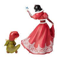 Image of Snow White and Dopey Couture de Force Figurine Set by Enesco # 2
