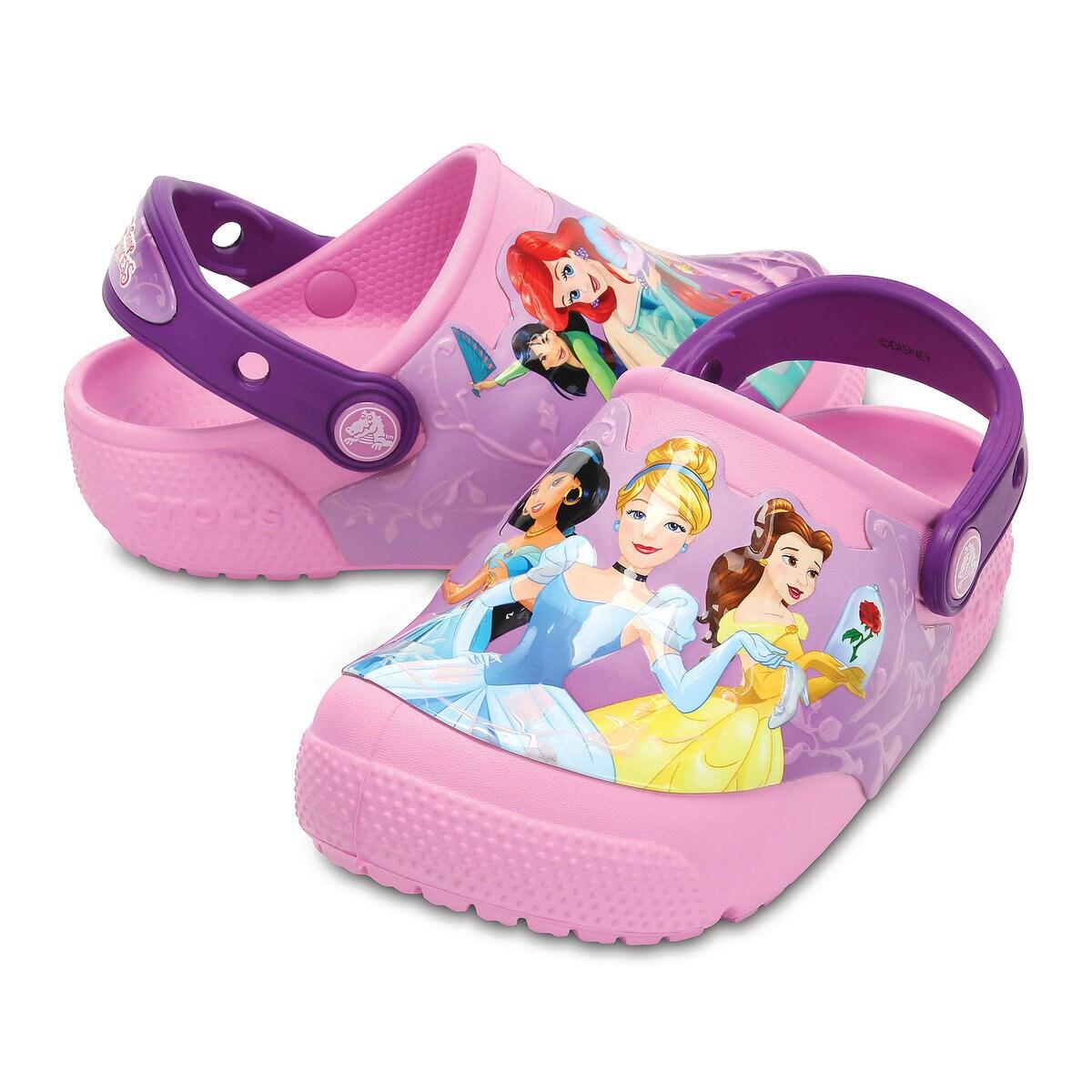 d990062ab8 Disney Princess Light-Up Clogs for Kids by Crocs