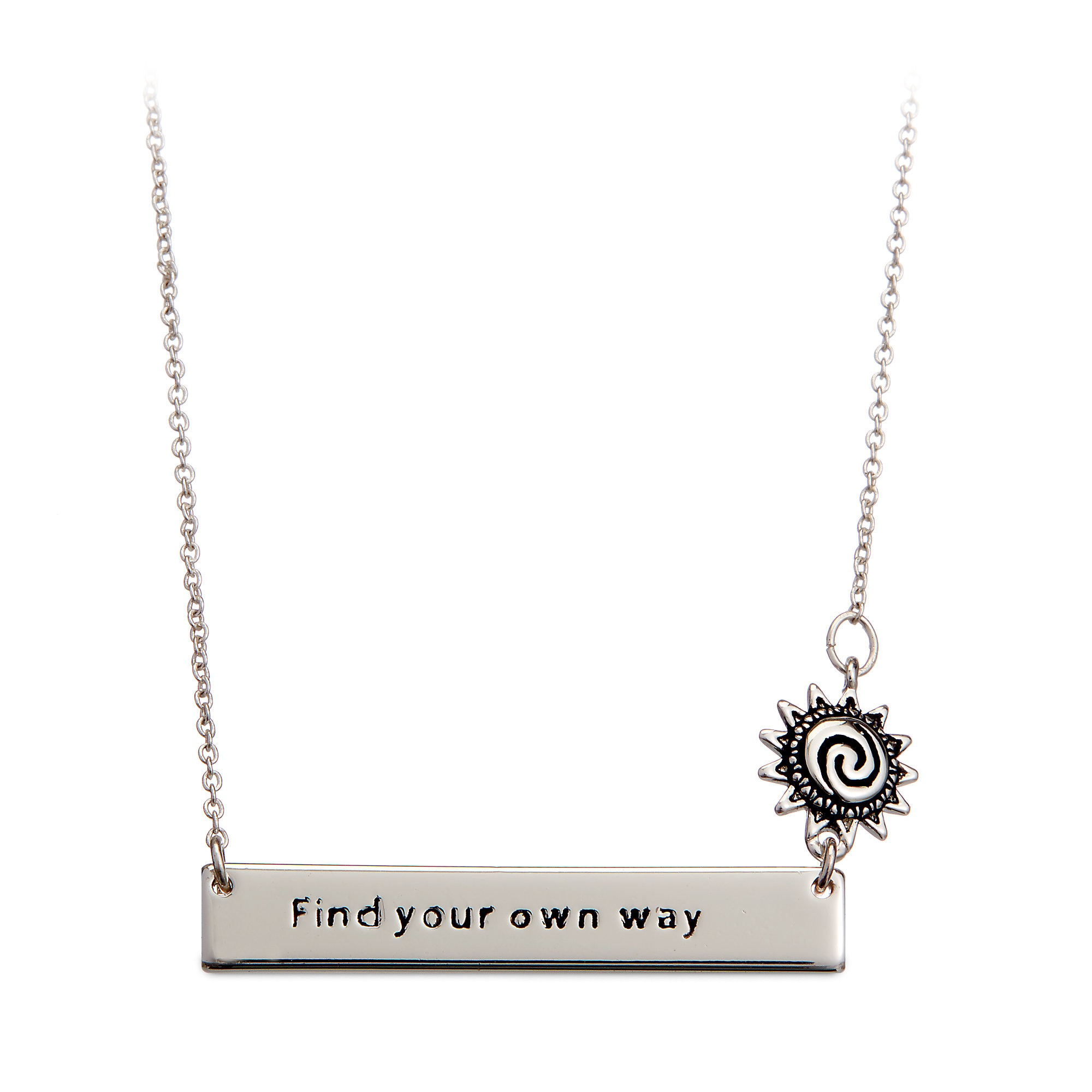 Moana ''Find Your Own Way'' Necklace