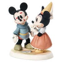 Image of Mickey and Minnie Mouse Brave Little Tailor Figure by Precious Moments # 1