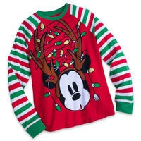 Mickey Mouse Holiday PJ Set for Men